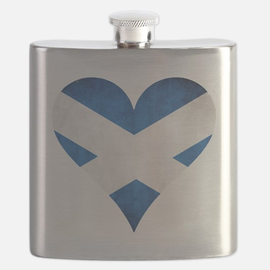 Scotland heart Flask