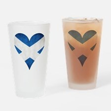 Scotland heart Drinking Glass