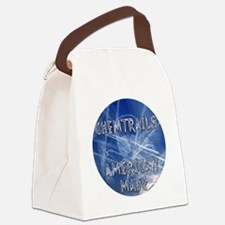 Chemtrails – Still Made in Americ Canvas Lunch Bag