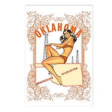 Vintage Oklahoma Pinup Postcards (Package of 8)