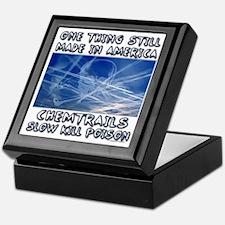 Chemtrails - Still Made in America Keepsake Box