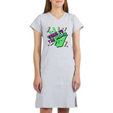 Talk To The Hand Women's Nightshirt