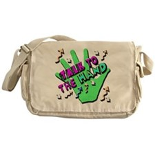 Talk To The Hand Messenger Bag