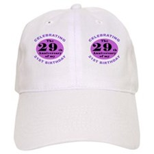 50th Birthday Humor Baseball Cap