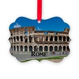 Colosseum rome Picture Frame Ornaments
