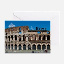 Rome_12.2x6.64_Colosseum Greeting Card