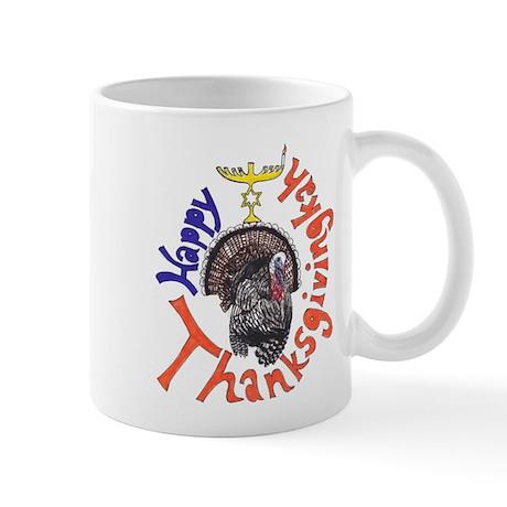 Happy Thanksgivingkah Mugs