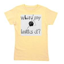 Where my Knittas at? Girl's Tee