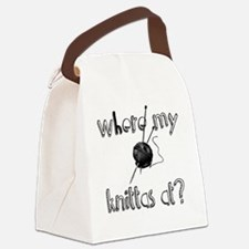 Where my Knittas at? Canvas Lunch Bag