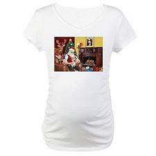 Santa at home with Tess Shirt
