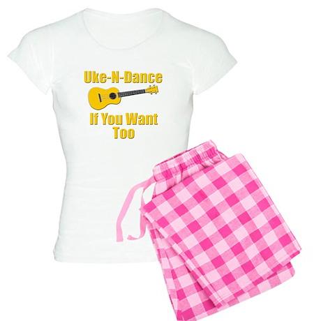 funny ukulele t-shirts and gifts design Pajamas