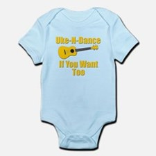 funny ukulele t-shirts and gifts design Body Suit