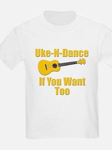 funny ukulele t-shirts and gifts design T-Shirt
