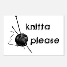 Knitta Please Postcards (Package of 8)