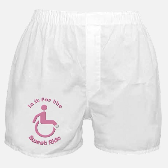 In it for the Sweet Ride Boxer Shorts