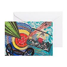 Frank Stella Greeting Card