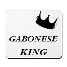 Gabonese King Mousepad
