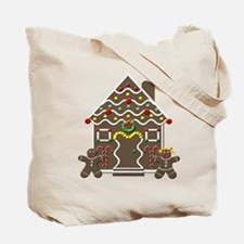 Gingerbread Doggy Tote Bag