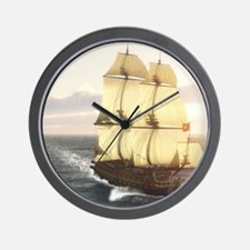 fw_Square Canvas Pillow Wall Clock
