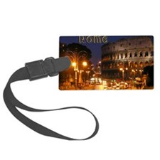 Rome_5x3rect_sticker_Colosseum Luggage Tag