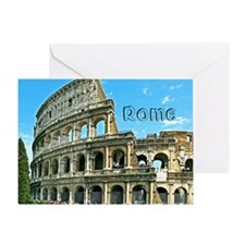 Rome_11x9_Colosseum Greeting Card