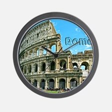 Rome_11x9_Colosseum Wall Clock