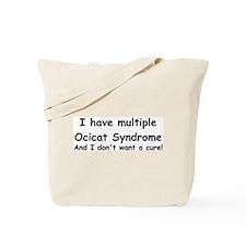 Multiple Ocicat Tote Bag