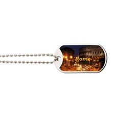 Rome_2x3_magnet_Colosseum Dog Tags