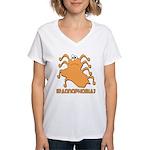Iraqnophobia Iraq Women's V-Neck T-Shirt
