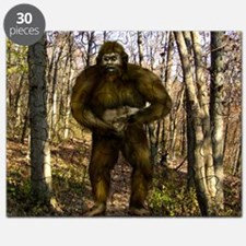 Bigfoot forest Puzzle