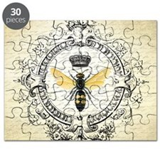 Vintage French Queen Bee Puzzle