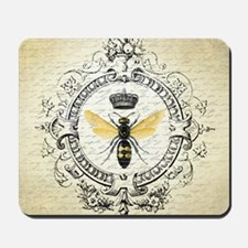 Vintage French Queen Bee Mousepad