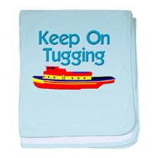 tugboat tug boat tugs baby blanket