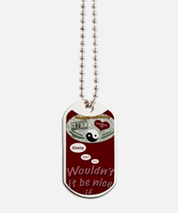 Wouldnt it be nice journal Dog Tags