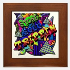Stone Cold Trippin! Framed Tile