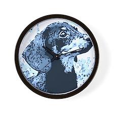 dachshund style Wall Clock