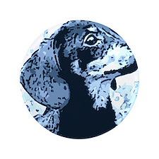 """dachshund style 3.5"""" Button"""