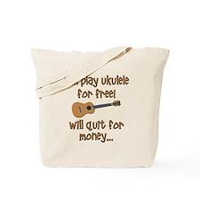 funny ukulele uke designs Tote Bag