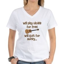 funny ukulele uke designs T-Shirt