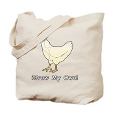 iGrow Chicken Tote Bag