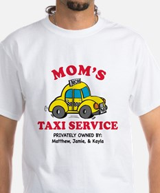 Moms Personalized Taxi Shir T-Shirt