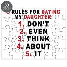 5 Rules For Dating My Daugther Puzzle