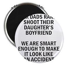 Geek Dads Rarely Shoot (Lt) Magnet