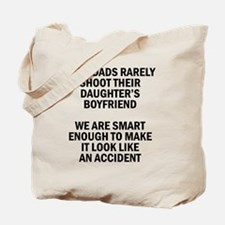 Geek Dads Rarely Shoot (Lt) Tote Bag