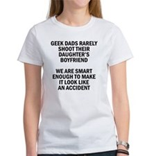 Geek Dads Rarely Shoot (Lt) Tee