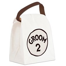 Groom 2 Canvas Lunch Bag