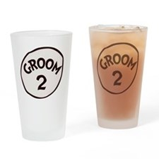 Groom 2 Drinking Glass
