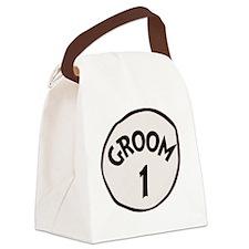 Groom 1 Canvas Lunch Bag