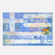 Greek Flag Postcards (Package of 8)