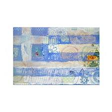Greek Flag Rectangle Magnet